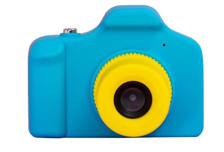 Digitale kindercamera's | Foto-, video-, of selfie camera in 2 kleuren  fotocamera - blauw