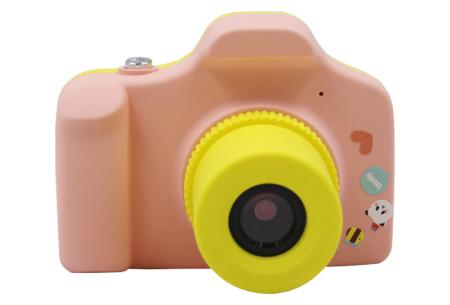 Digitale kindercamera's | Foto-, video-, of selfie camera in 2 kleuren  fotocamera - roze