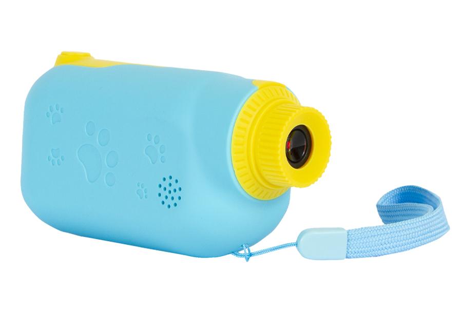 Kindercamera's van Silvergear 1 x Videocamera - blauw + 1 x 32GB Micro SD kaart