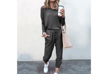 Basic dames huispak   Super zachte en luchtige loungewear - in 14 kleuren!