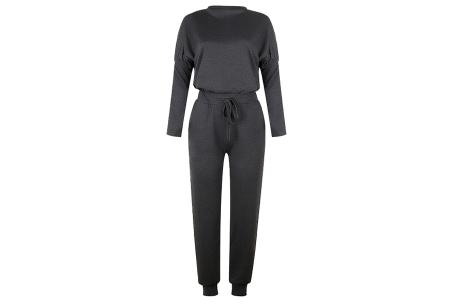 Basic dames huispak   Super zachte en luchtige loungewear - in 14 kleuren! donkergrijs