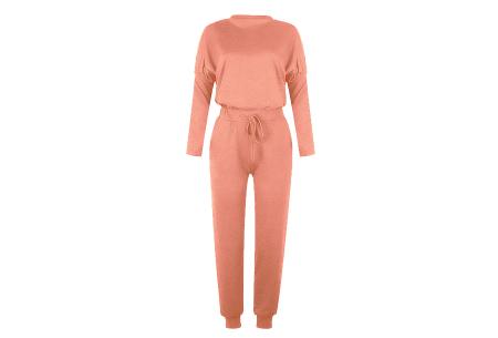 Basic dames huispak   Super zachte en luchtige loungewear - in 14 kleuren! zalmroze
