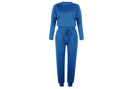 Basic dames huispak   Super zachte en luchtige loungewear - in 14 kleuren! blauw