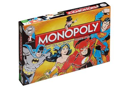 Monopoly bordspellen | In de varianten The Big Bang Theory & DC Comics Retro DC Comics Retro