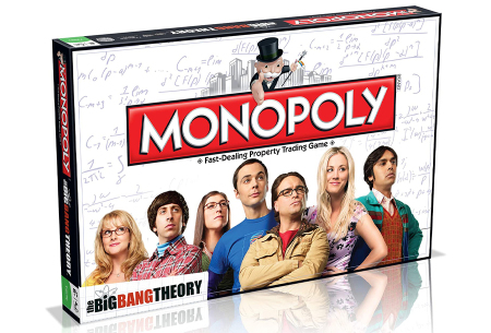 Monopoly bordspellen | In de varianten The Big Bang Theory & DC Comics Retro The Big Bang Theory