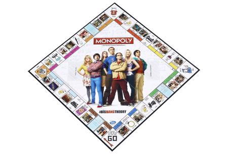 Monopoly bordspellen | In de varianten The Big Bang Theory & DC Comics Retro