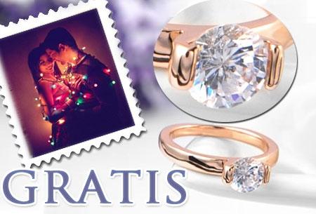 Little Diamond ring t.w.v. €24,95 nu GRATIS. Grijp je kans!
