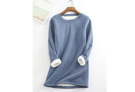 Fleece tuniek | Super warme en zachte musthave in 10 kleuren!  Blauw