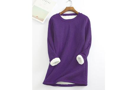 Fleece tuniek | Super warme en zachte musthave in 10 kleuren!  Paars