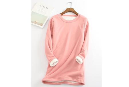 Fleece tuniek | Super warme en zachte musthave in 10 kleuren!  Roze