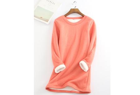 Fleece tuniek | Super warme en zachte musthave in 10 kleuren!  Zalmroze