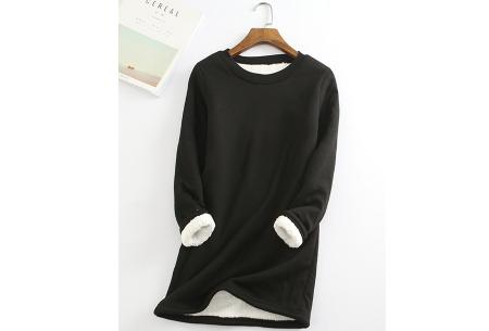 Fleece tuniek | Super warme en zachte musthave in 10 kleuren!  Zwart