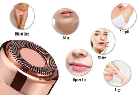 Cenocco precisietrimmer voor je wenkbrauwen, gezicht en meer | Verwijder pijnloos ongewenst haar