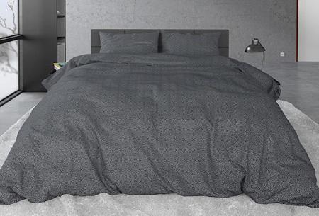 Sleeptime flanellen dekbedovertrekken | Zachte en warme dekbedhoes van flanel Jason anthracite