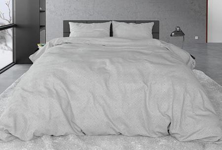 Sleeptime flanellen dekbedovertrekken | Zachte en warme dekbedhoes van flanel Jason grey
