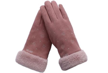Warme handschoenen | In diverse stijlvolle modellen en kleuren Sneeuw - roze