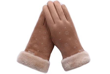 Warme handschoenen | In diverse stijlvolle modellen en kleuren Sneeuw - bruin