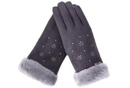 Warme handschoenen | In diverse stijlvolle modellen en kleuren Sneeuw - grijs