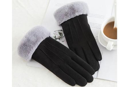 Warme handschoenen | In diverse stijlvolle modellen en kleuren 3 strepen - zwart