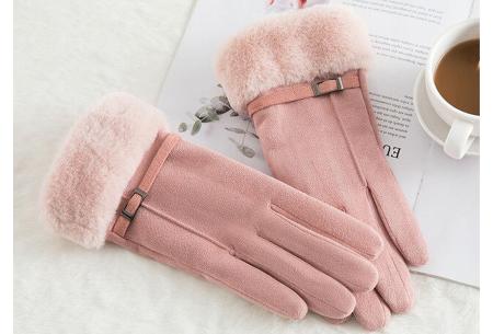 Warme handschoenen | In diverse stijlvolle modellen en kleuren Riempje - roze
