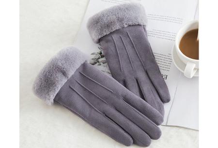 Warme handschoenen | In diverse stijlvolle modellen en kleuren 3 strepen - grijs