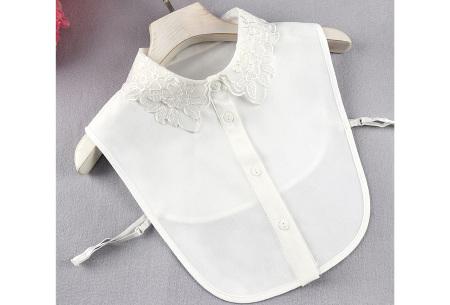 Kanten blouse kraagjes | Losse kraagjes met kanten rand - in 17 uitvoeringen #A