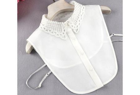 Kanten blouse kraagjes | Losse kraagjes met kanten rand - in 17 uitvoeringen #B