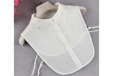 Kanten blouse kraagjes | Losse kraagjes met kanten rand - in 17 uitvoeringen #D