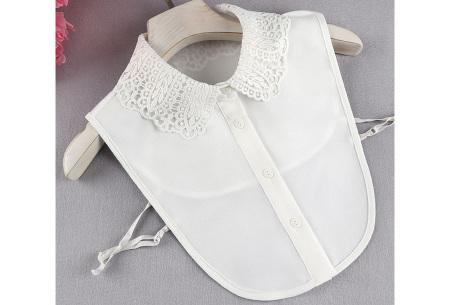 Kanten blouse kraagjes | Losse kraagjes met kanten rand - in 17 uitvoeringen #F