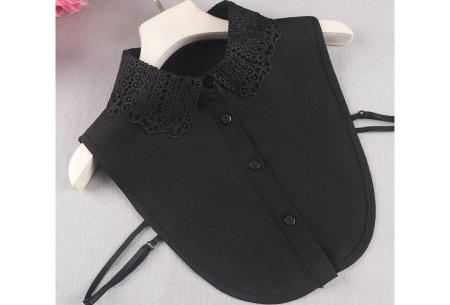 Kanten blouse kraagjes | Losse kraagjes met kanten rand - in 17 uitvoeringen #G