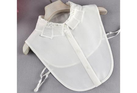Kanten blouse kraagjes | Losse kraagjes met kanten rand - in 17 uitvoeringen #H