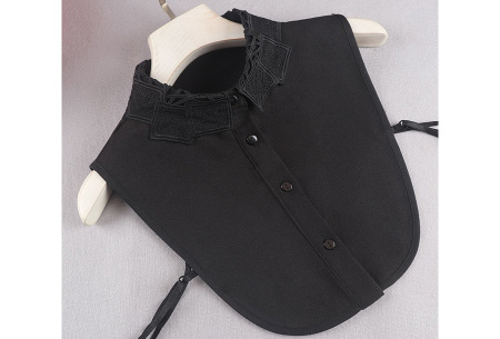 Kanten blouse kraagjes | Losse kraagjes met kanten rand - in 17 uitvoeringen #I