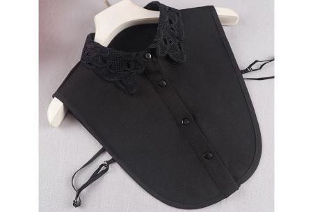 Kanten blouse kraagjes | Losse kraagjes met kanten rand - in 17 uitvoeringen #K