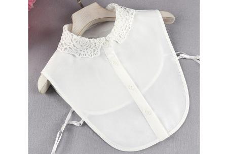 Kanten blouse kraagjes | Losse kraagjes met kanten rand - in 17 uitvoeringen #L