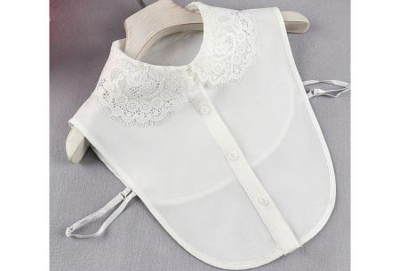 Kanten blouse kraagjes | Losse kraagjes met kanten rand - in 17 uitvoeringen #N
