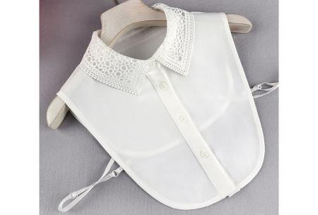 Kanten blouse kraagjes | Losse kraagjes met kanten rand - in 17 uitvoeringen #P