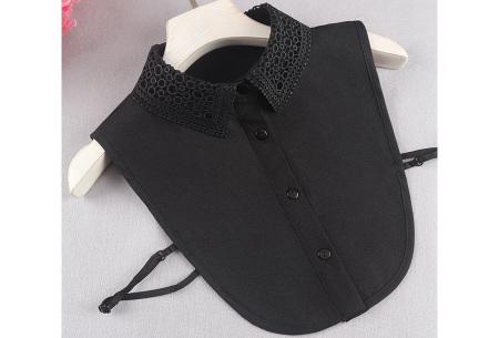 Kanten blouse kraagjes | Losse kraagjes met kanten rand - in 17 uitvoeringen #Q