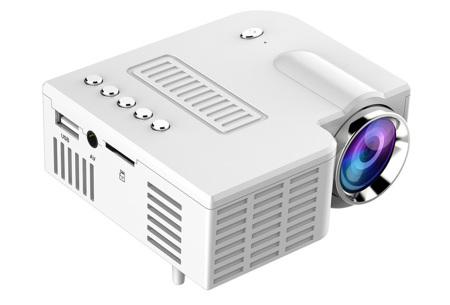 Mini beamer | Kleine projector voor een thuisbioscoop