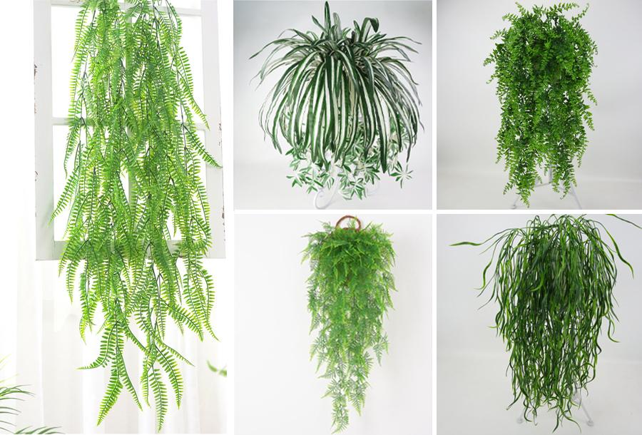 Kunst hangplanten in de aanbieding