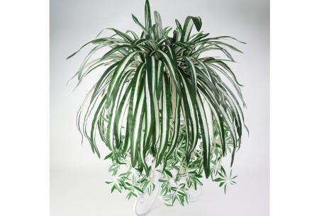 Kunst hangplanten | Prachtige sier kamerplanten in 10 soorten  #G - donkergroen