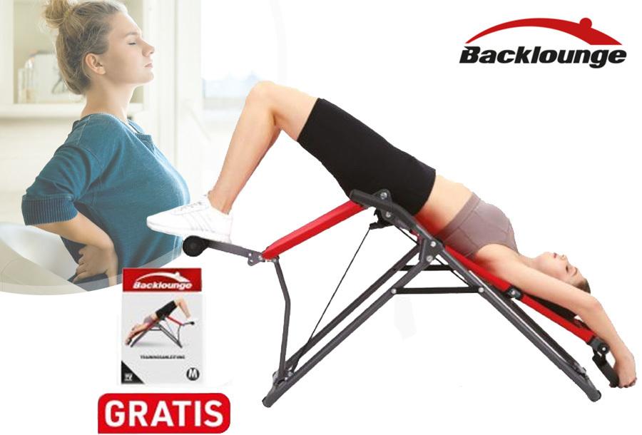 Backlounge fitnessapparaat - nu met 41% korting