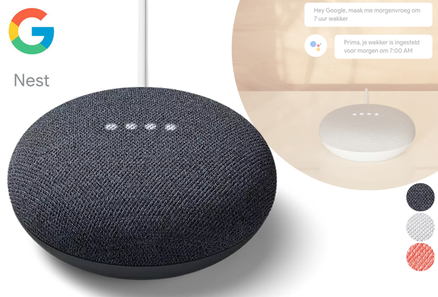 Google assistant in de aanbieding!