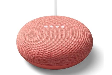 Google Home Mini   Bedien talloze apparaten met deze slimme speaker!  Koraal
