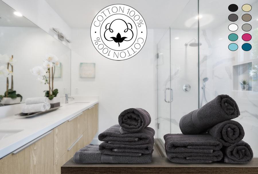50% korting - Luxe handdoeken of badhanddoeken