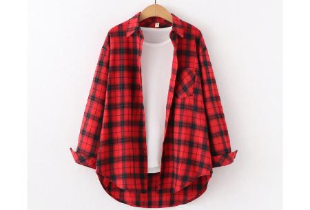 Houthakkersblouse | Trendy dames blouse in 10 kleuren #A