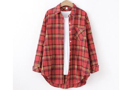 Houthakkersblouse | Trendy dames blouse in 10 kleuren #B