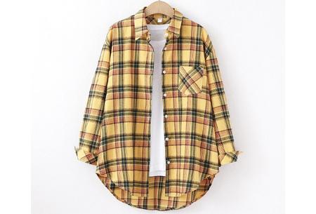 Houthakkersblouse | Trendy dames blouse in 10 kleuren #C