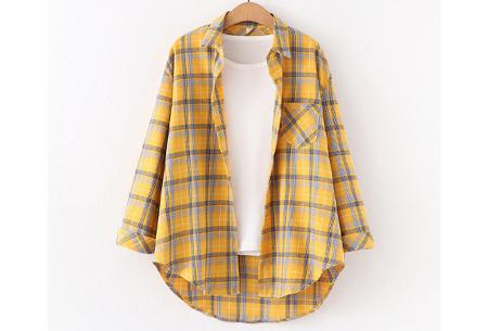 Houthakkersblouse | Trendy dames blouse in 10 kleuren #E