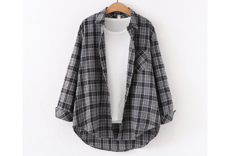 Houthakkersblouse | Trendy dames blouse in 10 kleuren #F