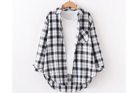 Houthakkersblouse | Trendy dames blouse in 10 kleuren #G